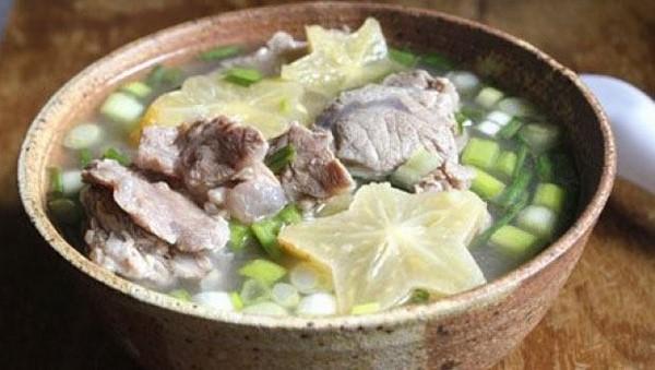 canh chua thịt bò