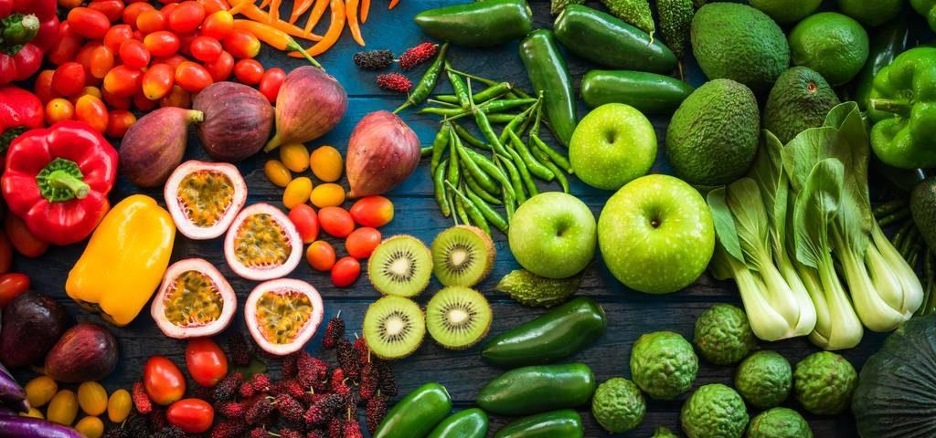 chế độ ăn giảm mỡ bụng với rau xanh