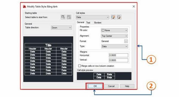hướng dẫn cách chỉnh sửa text trong Cad