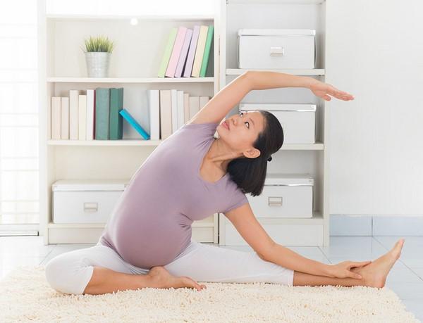 bài tập khi bị đau bụng dưới khi mang thai