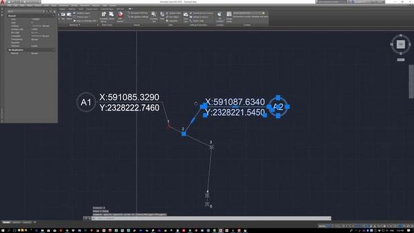 lệnh hiển thị tọa độ điểm trong Cad