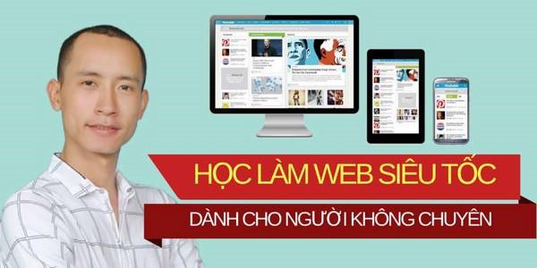 học thiết kế website chất lượng