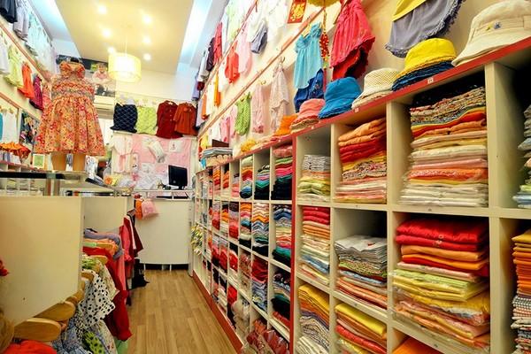 Kế hoạch mở shop quần áo trẻ em