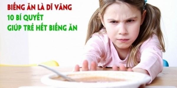 khóa học trị biếng ăn cho trẻ nhỏ