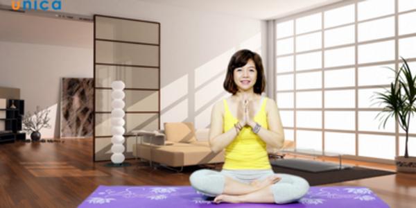 khóa học yoga tại nhà với Nguyễn Hiếu