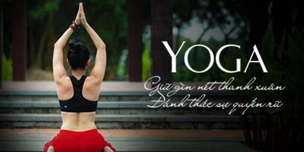 khóa học yoga tại nhà với giảng viên