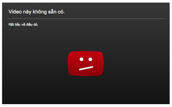 khôi phục tài khoản YouTube bị khóa