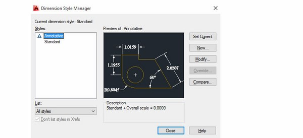 cách dùng lệnh đo kích thước trong Cad