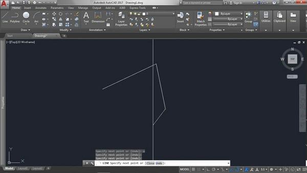 lệnh vẽ đường thẳng trong Cad