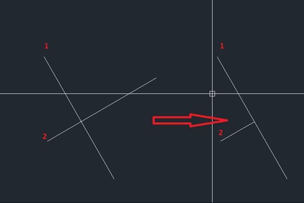 hướng dẫn cách dùng lệnh vẽ đường thẳng trong Cad