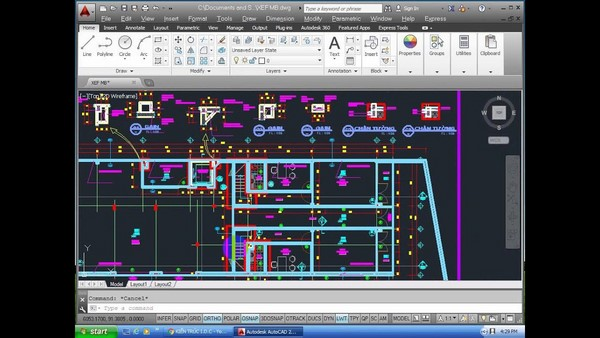 lệnh xref trong Cad