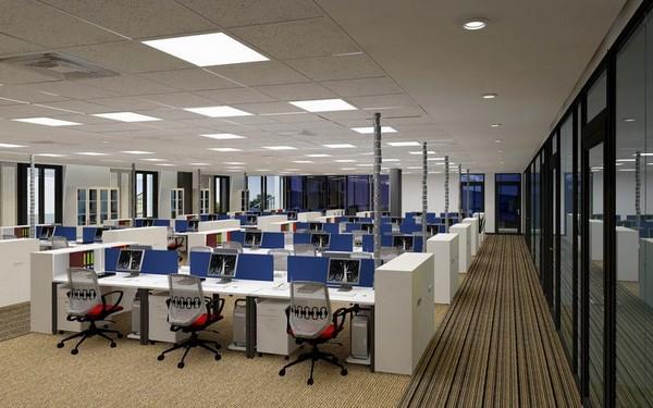 mô hình cho thuê văn phòng