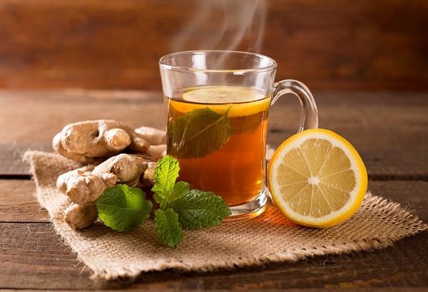 nước uống giảm mỡ bụng từ trà gừng
