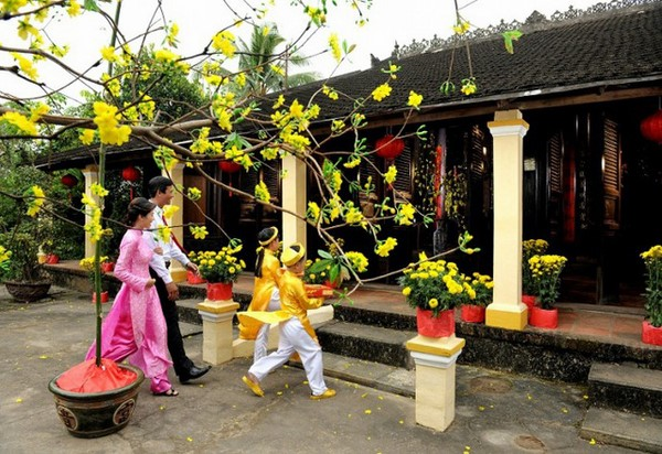phong tục truyền thống đêm giao thừa của người Việt