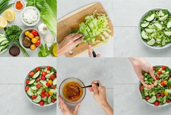 món salad trộn ngon nhất