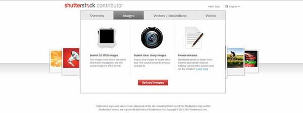Shutterstock là gì