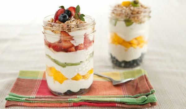 thực phẩm giảm mỡ bụng với sữa chua