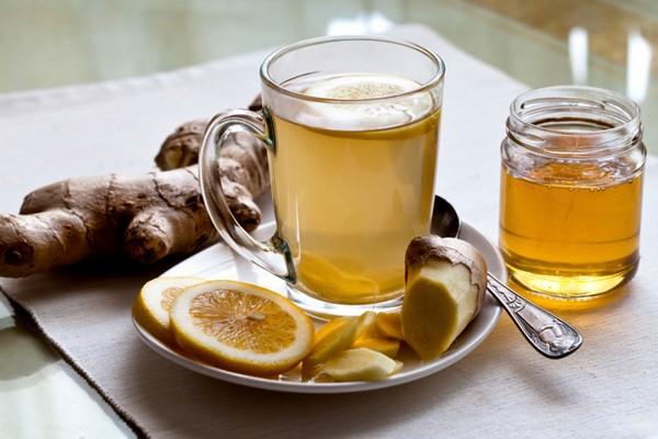 trà uống tan mơ bụng từ trà gừn