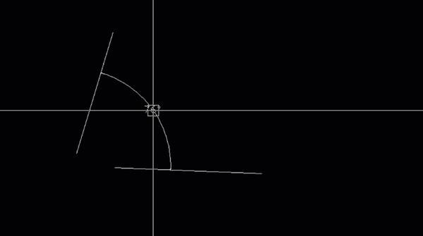 cách Vẽ cung tròn trong Cad