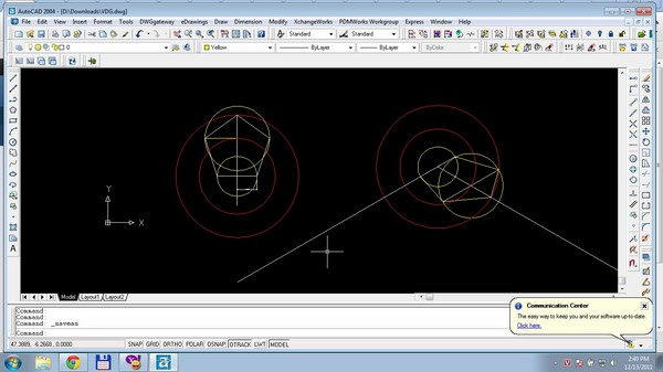 cách vẽ đa giác trong Cad