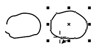 Vẽ đường cong trong Corel