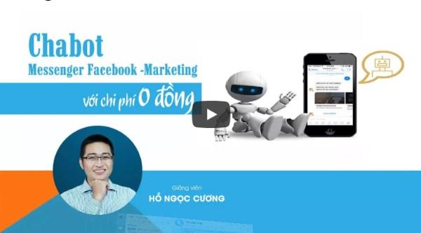 Khóa học chatbot của Giảng viên Hồ Ngọc Cương