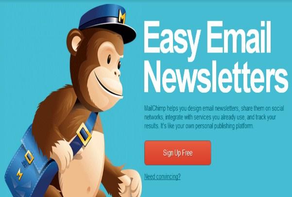 Công cụ MailChimp