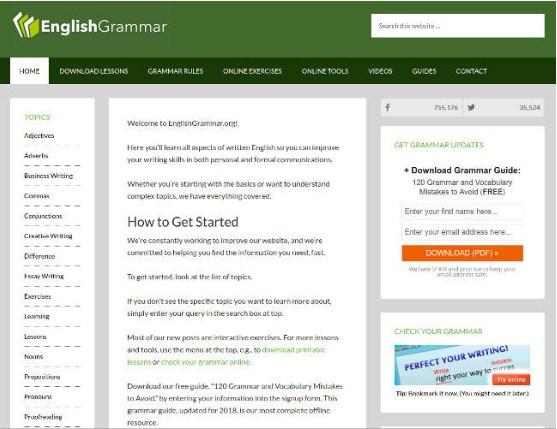 Đây là phần mềm để tự học ngữ pháp