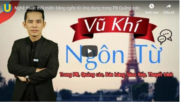 Giảng viên: Chuyên gia thương hiệu Huỳnh Minh Thuận