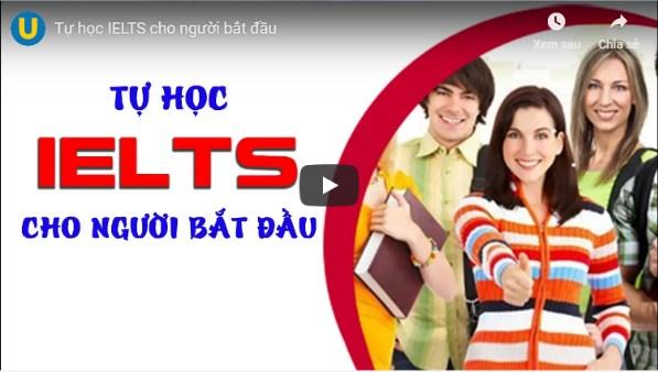 Khóa học Tự học IELTS cho người bắt đầu