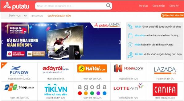 Một số trang thương mại điện tử tại Việt Nam có sử dụng hình thức này