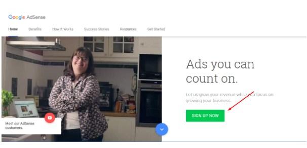 Cách đăng ký Google Adsense Content