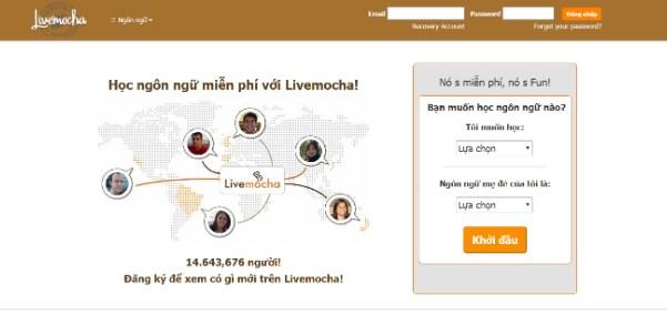 Livemocha đem đên cho bạn phương pháp học Tiếng Anh vô cùng độc đáo