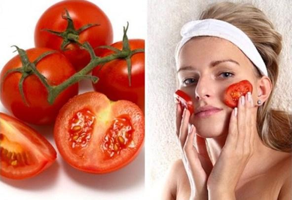 Mặt nạ cà chua giúp da khỏi bị cháy nắng