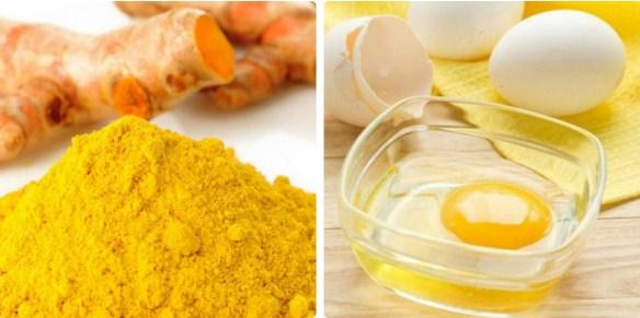 Mặt nạ nghệ trứng gà trị mụn, dưỡng da trắng hồng vô cùng hiệu quả