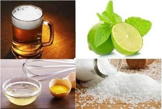 Kết hợp bia với mật ong và chanh hiệu quả lại càng tăng lên gấp nhiều lần