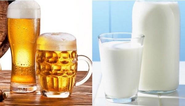 Sự kết hợp giữa bia và sữa tươi là một phương pháp làm trắng da siêu hiệu quả