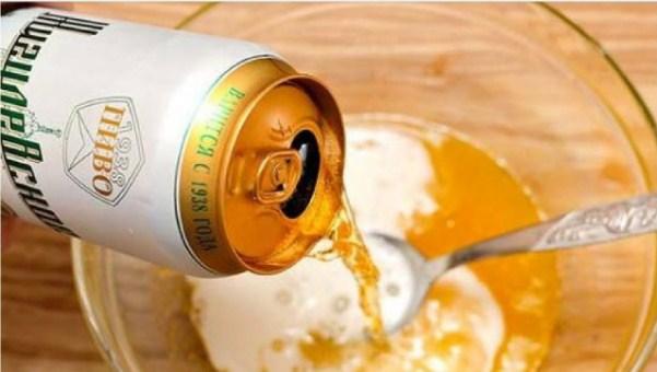 Sử dụng hỗn hợp muối và bia cho làn da khô và da thường