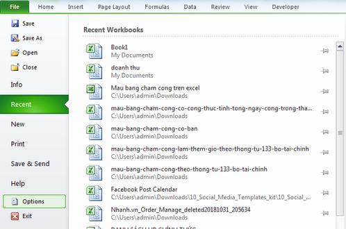 Hướng dẫn tạo phom nhập liệu trong Excel