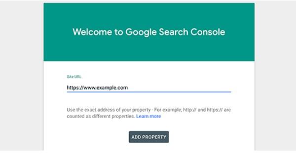 Ảnh minh họa cách truy cập Google Webmaster Tools