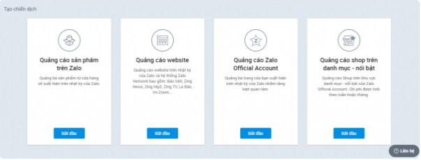 Zalo Ads cung cấp những hình thức quảng cáo nào?