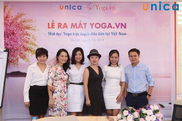Website học Yoga trực tuyến đầu tiên tại Việt Nam