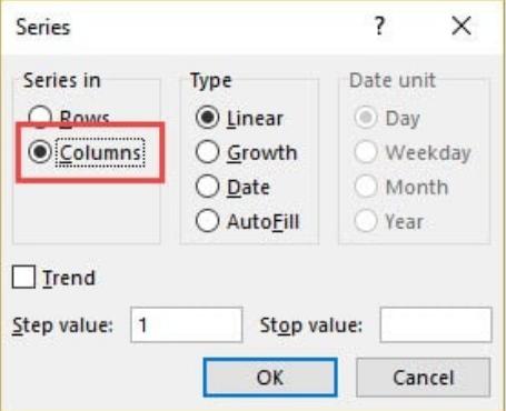 Cách đánh số hàng trong Excel 6