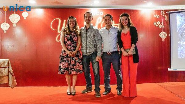 Unica tổ chức sự kiện tri ân cuối năm 1