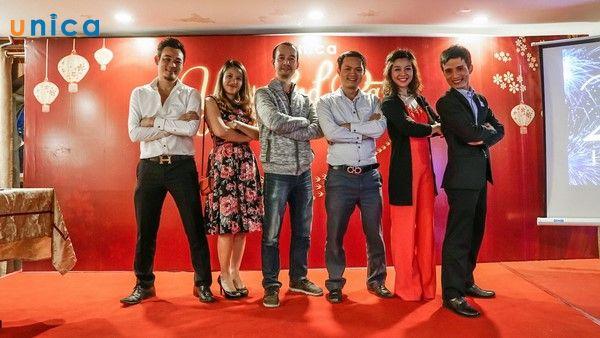 Unica tổ chức sự kiện tri ân cuối năm 2