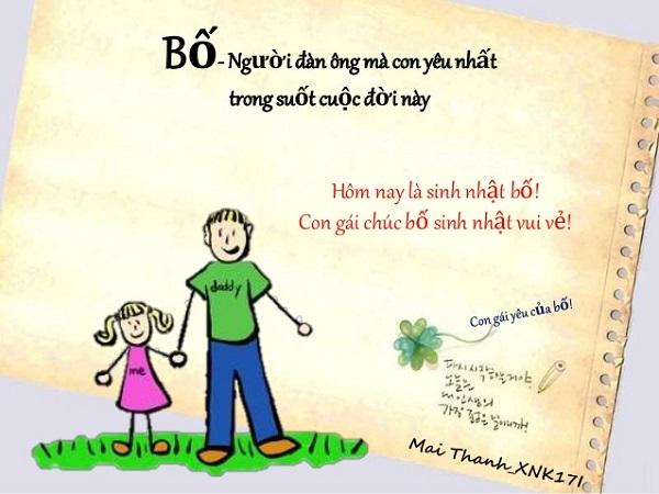 Tin nhắn chúc mừng sinh nhật bố (mẹ) hay và ý nghĩa nhất