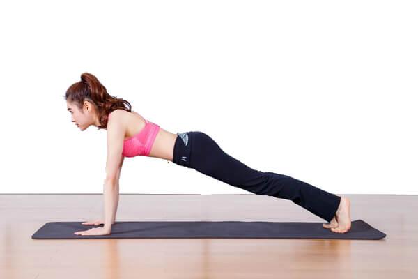 Bài tập giảm mỡ bụng siêu nhanh với tư thế Plank