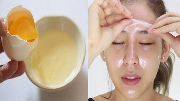 Cách làm mặt nạ trị mụn từ trứng gà