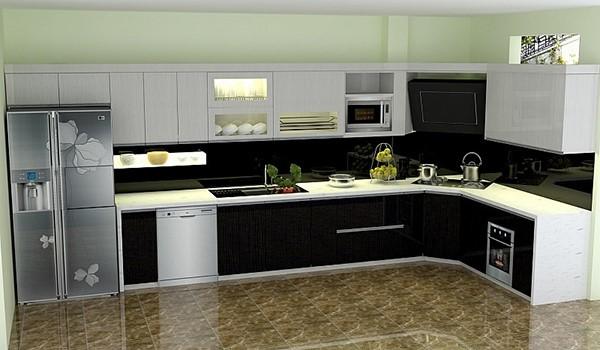 Cách bố trí phòng bếp đúng chuẩn
