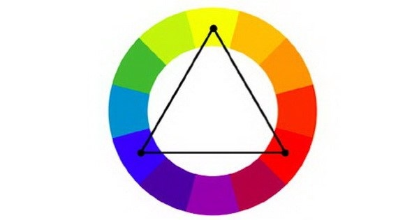 Cách phối màu bổ túc bộ ba